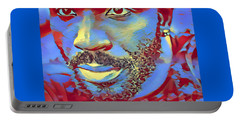 Portrait Of A Man Of Color Portable Battery Charger