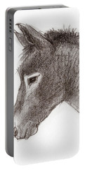 Portrait Of A Mule Portable Battery Charger