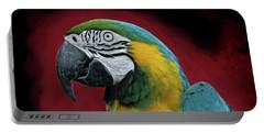 Portrait Of A Parrot Portable Battery Charger