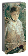 Portrait Of A Young Lady Portable Battery Charger