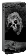Portrait Of A Zombie Portable Battery Charger