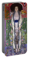 Portrait Of Adele Bloch-bauer II Portable Battery Charger by Gustav Klimt