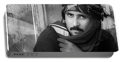 Portrait Of An Arab Man Portable Battery Charger