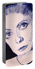 Portrait Of Catherine Portable Battery Charger