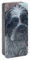 Portrait Of Charley Portable Battery Charger