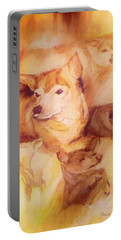 Portrait Of Chi Chi Portable Battery Charger