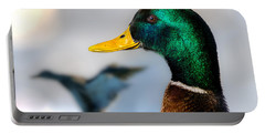 Portrait Of Duck 2 Portable Battery Charger