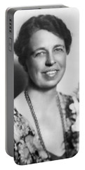 Portrait Of Eleanor Roosevelt Portable Battery Charger