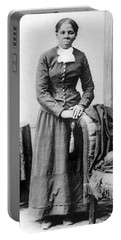 Portrait Of Harriet Tubman Portable Battery Charger