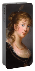 Portrait Of Louisa Princess Radziwill  Portable Battery Charger