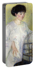 Portrait Of Madame Frieseke Portable Battery Charger