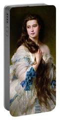 Portrait Of Madame Rimsky Korsakov Portable Battery Charger