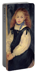 Portrait Of Mademoiselle Legrand Portable Battery Charger
