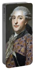 Portrait Of Prince Vladimir Golitsyn Borisovtj Portable Battery Charger