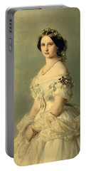 Portrait Of Princess Of Baden Portable Battery Charger