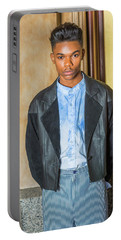Portrait Of School Boy 15042624 Portable Battery Charger