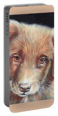 Portrait Of Toby Portable Battery Charger