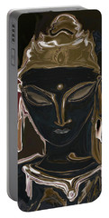 Portrait Of Vajrasattva Portable Battery Charger by Rabi Khan