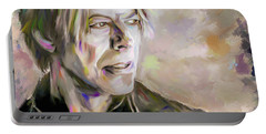 Portrait Of Bowie Portable Battery Charger