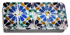 Portuguese Tiles Portable Battery Charger by Marion McCristall