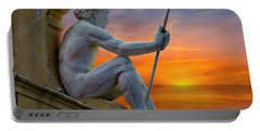 Poseidon - God Of The Sea Portable Battery Charger