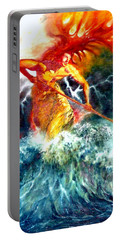 Poseidon Portable Battery Charger by Henryk Gorecki