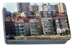 Portable Battery Charger featuring the photograph Posh Burbs by Stephen Mitchell