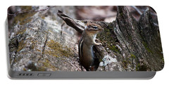 Portable Battery Charger featuring the photograph Posing #2 by Jeff Severson