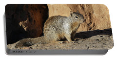 Posing Squirrel Portable Battery Charger