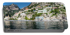 Positano From The Sea - Panorama II Portable Battery Charger