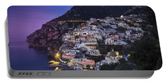 Positano Twilight Portable Battery Charger by Brian Jannsen