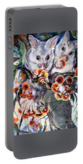 Possum Family Portable Battery Charger