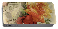 Portable Battery Charger featuring the digital art Postal by Kim Kent
