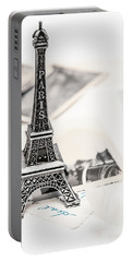 Postcards And Letters From Paris Portable Battery Charger