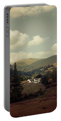 Postcards From Scotland Portable Battery Charger by Jaroslaw Blaminsky