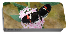 Postman Butterfly, Heliconius Melpomene Portable Battery Charger