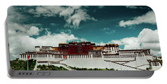 Portable Battery Charger featuring the photograph Potala Palace. Lhasa, Tibet. Artmif.lv by Raimond Klavins