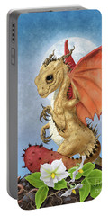 Potato Dragon Portable Battery Charger by Stanley Morrison