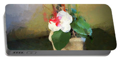 Potted Flower Portable Battery Charger