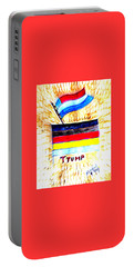 Potus For All Black Brown, Red, Yellow, White Portable Battery Charger