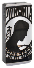 Portable Battery Charger featuring the photograph Pow Mia Not Forgotten by Natalie Ortiz