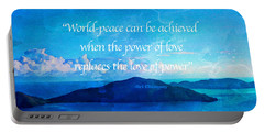 Power Of Love Portable Battery Charger