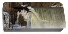 Power Station Falls On Black River One Portable Battery Charger