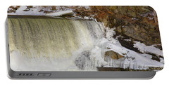 Power Station Falls On Black River Three Portable Battery Charger
