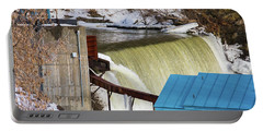 Power Station Falls On Black River Two Portable Battery Charger