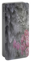 Portable Battery Charger featuring the photograph Powerful And Gentle Waterfall Art  by Valerie Garner