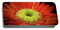 Prado Red Sunflower Portable Battery Charger