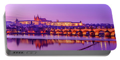 Portable Battery Charger featuring the photograph Prague Fairytale by Dmytro Korol