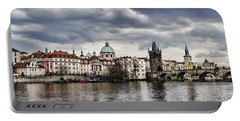 Prague Panorama Portable Battery Charger