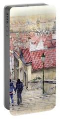 Prague Zamecky Schody Castle Steps Portable Battery Charger